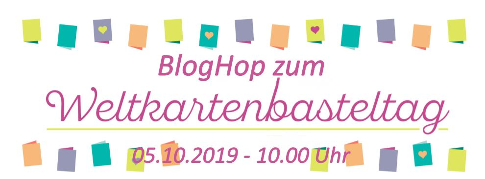 BlogHop zum Weltkartenbasteltag