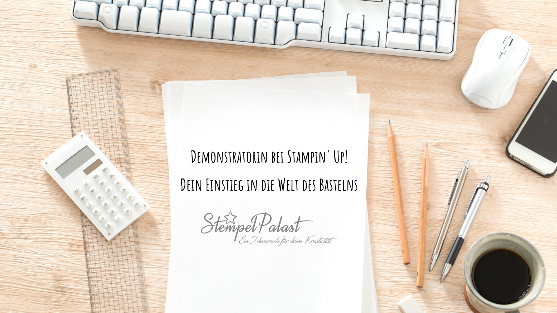 Demonstratorin bei Stampin' Up!, Dein Einstieg
