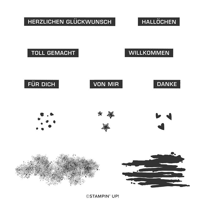 Stempelset alles im Block von Jasmin Schulze