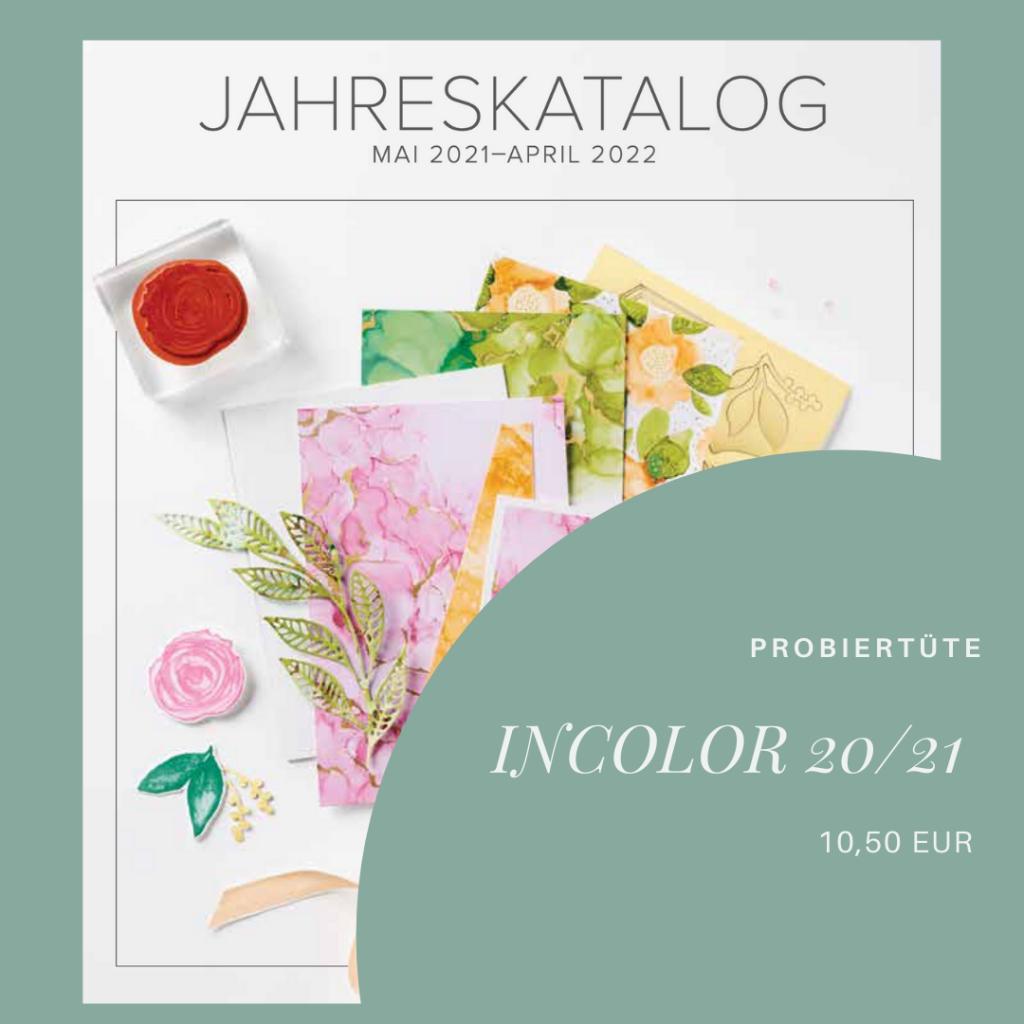 Probiertüte InColor 2020-2022 für 10,50 EUR