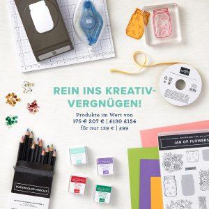 Alles neu macht der Mai: Einsteigerangebot: 129 EUR bezahlen und für 207 EUR Produkte aussuchen!